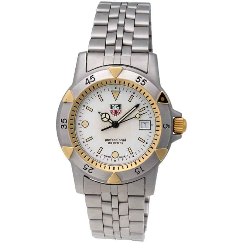 Tag heuer divers 1500 series men s quartz watch no reserve auction ebay for Tag heuer divers watch