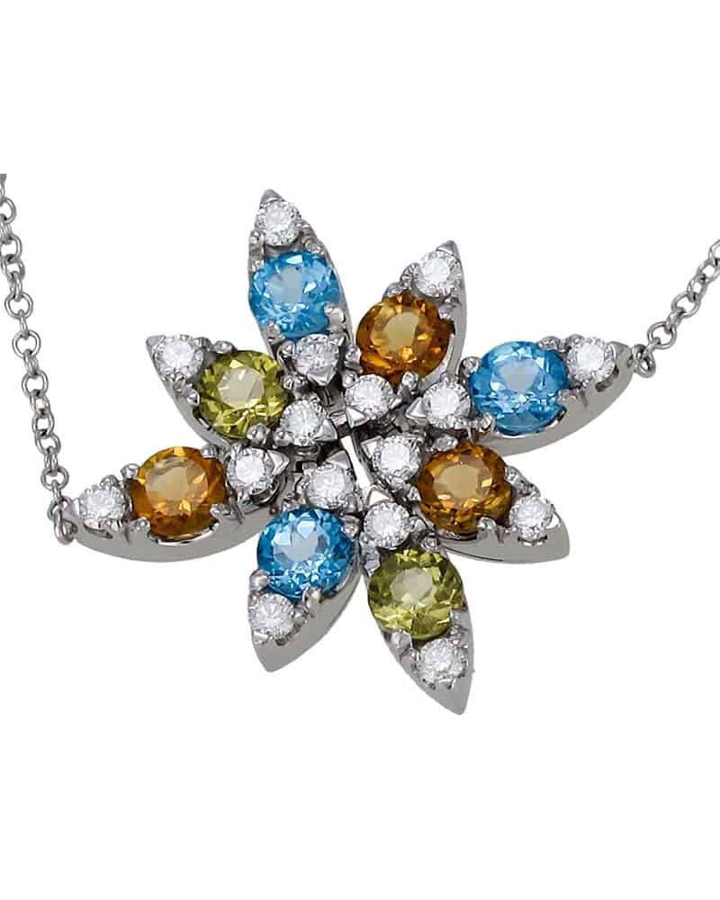 """PASQUALE BRUNI - """"Little Rosette Ghirl"""" 18K White Gold Bracelet"""
