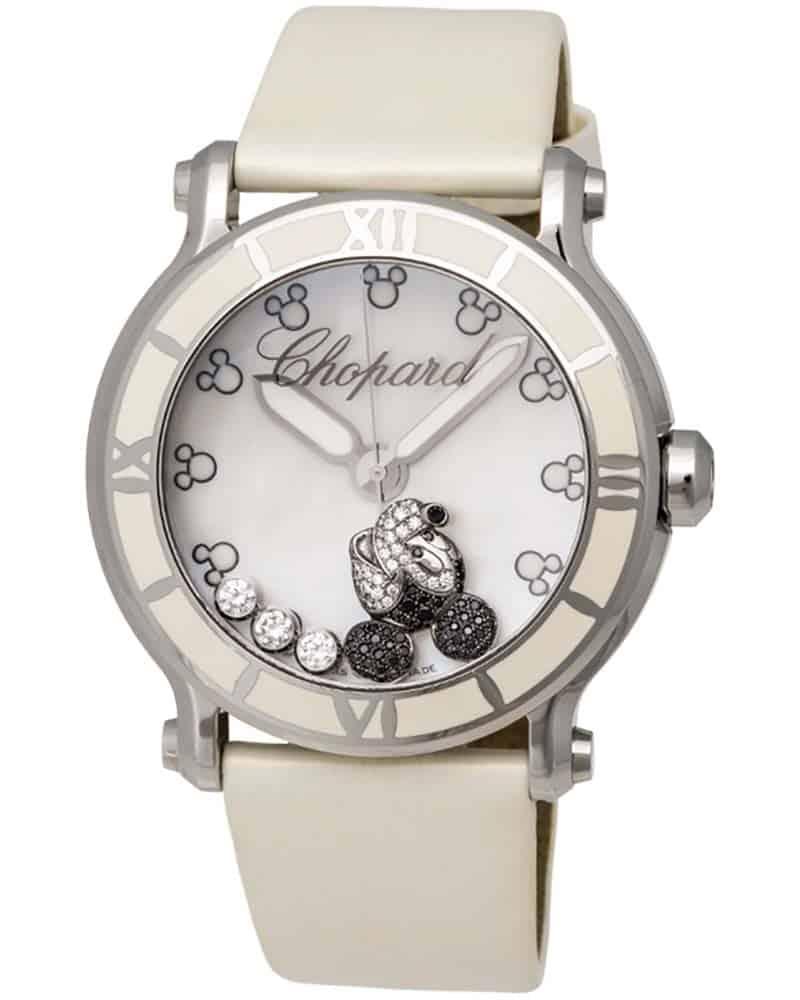 Chopard Happy Sport Mickey Mouse Quartz 42mm Ladies Watch 288524-3004