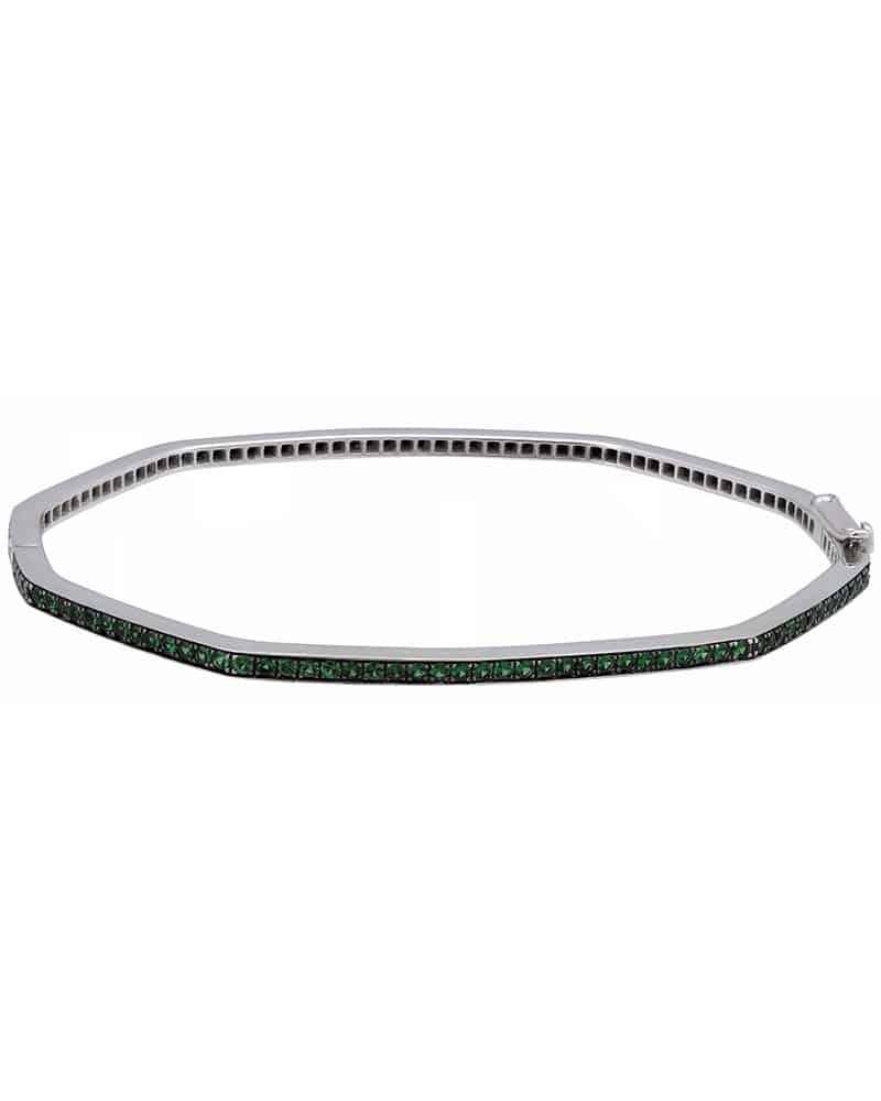 STEPHEN WEBSTER – 'Deco' 18K White Gold Bracelet