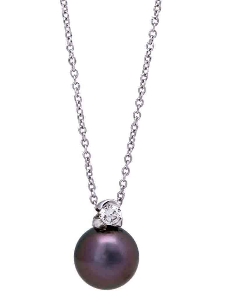 Mikimoto Tahitian Pearl Necklace