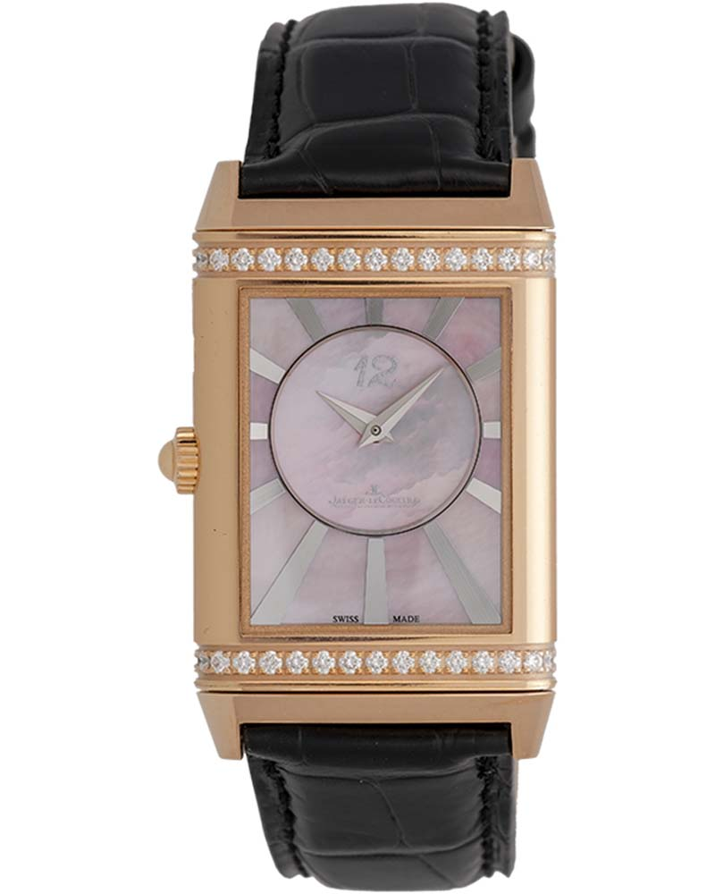 Jaeger-LeCoultre Reverso 18K R/G Lady Ultra Thin Manual Duetto Ladies Watch – Q3302421