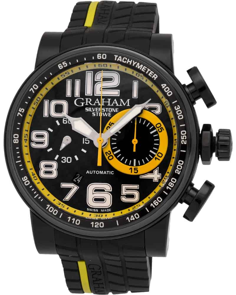 Graham Silverstone Stowe Racing Chronograph Automatic Men's Watch – 2BLDC.B28A.K66N