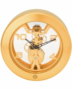 "MATTHEW NORMAN ""Wind"" Exclusive 8 Days Mechanical Movement, Swiss Made 17 Jewels Clock 50.3648.001"