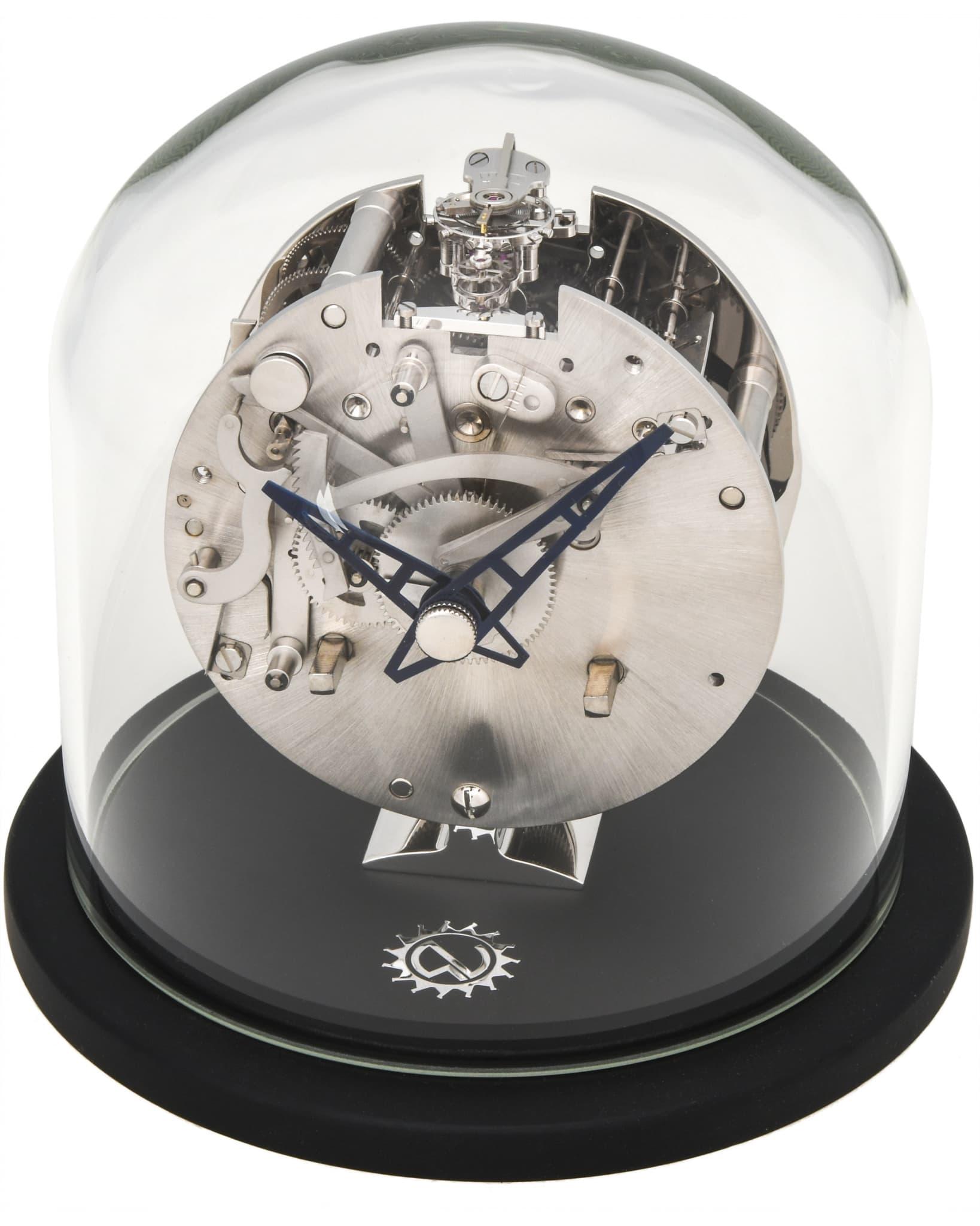 "MATTHEW NORMAN ""La Ronde"" Mechanical Swiss Made Calibre 1910 – 8 Days 11 Jewels Clock 78.3576.111"