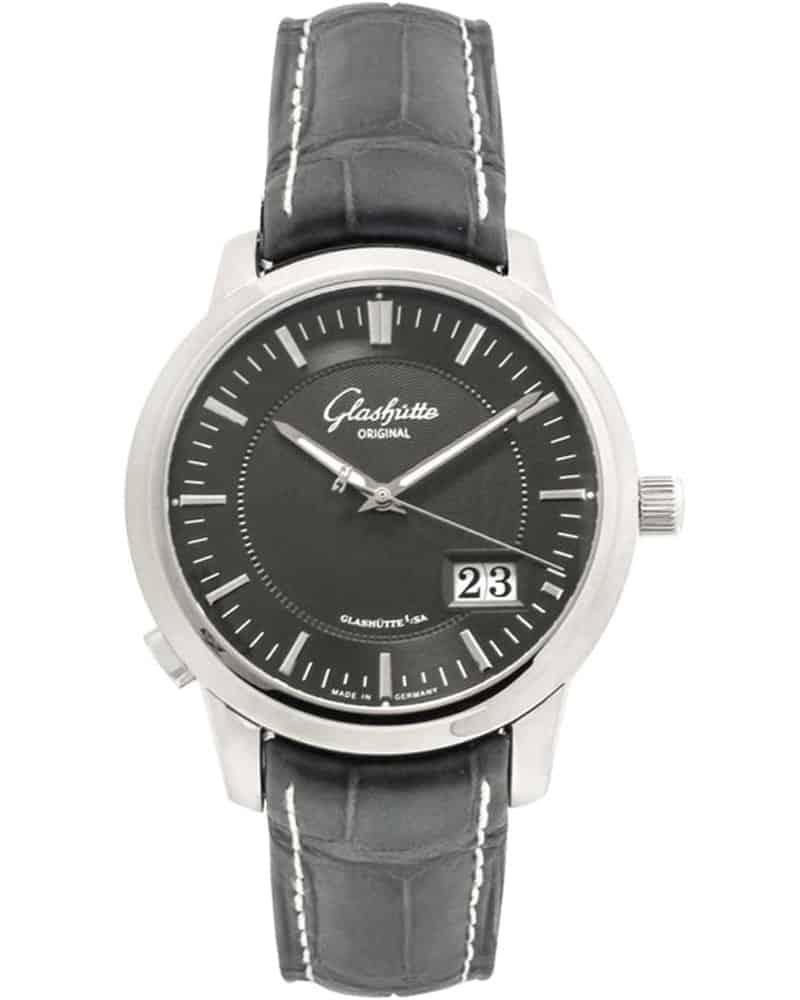 Glashutte Original Senator Panorama Date Automatic Men's Watch – 100-03-04-02-04