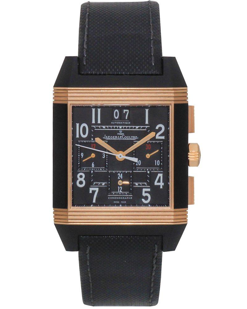 Jaeger-LeCoultre Reverso Squadra Chronograph GMT LE Men's Watch Q7012471