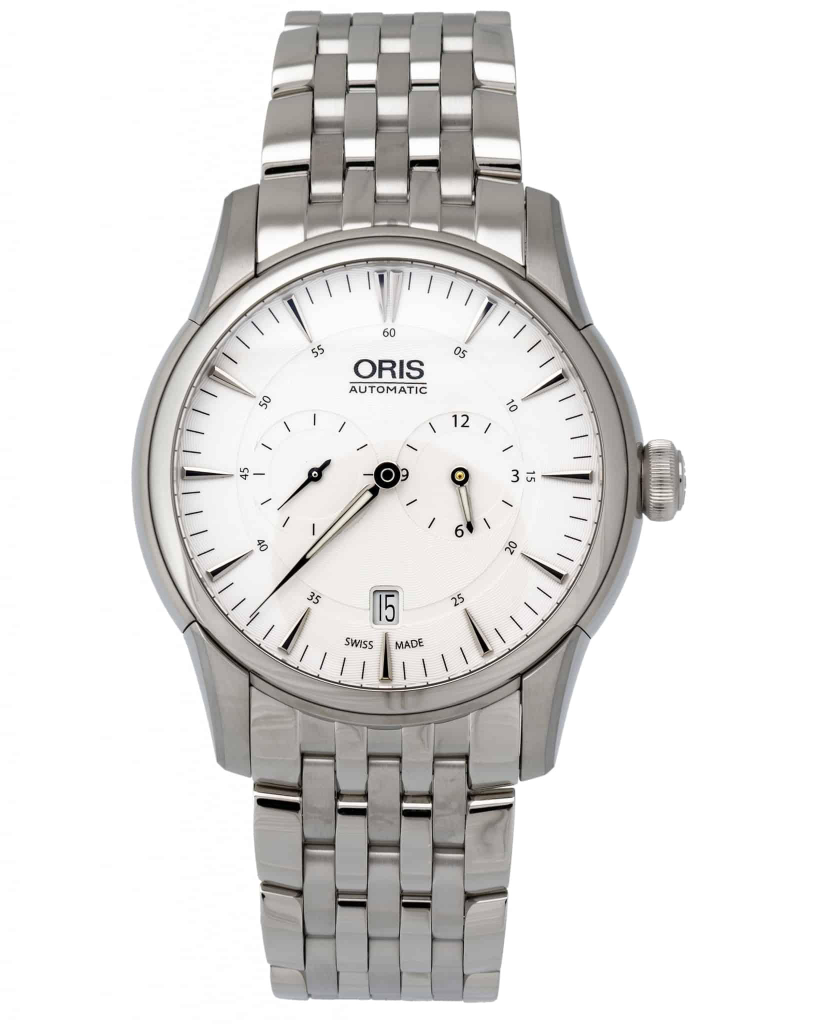 Oris Artelier Regulateur Automatic Men's Watch – 749-7667-4051 SS
