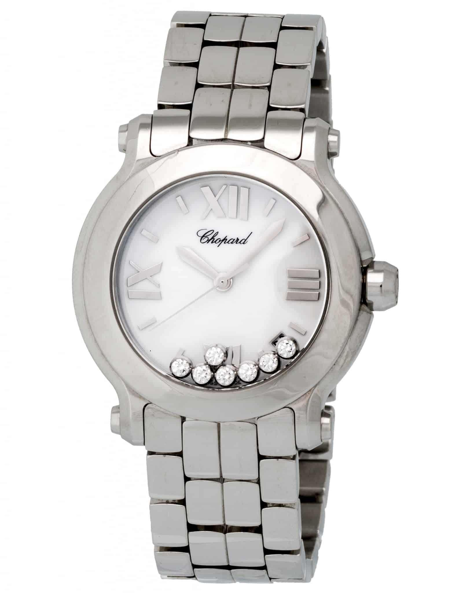 Chopard Happy Sport Round 36mm Quartz Ladies Watch – 278477-3001