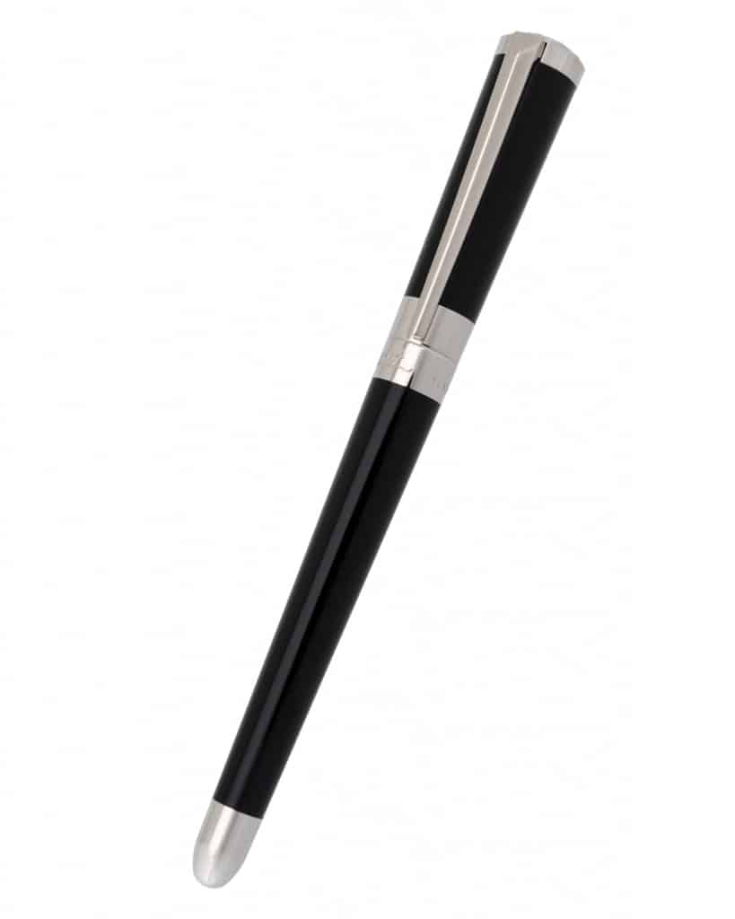 S.T. DUPONT Liberte Black Lacquer Fine Point Fountain 460674
