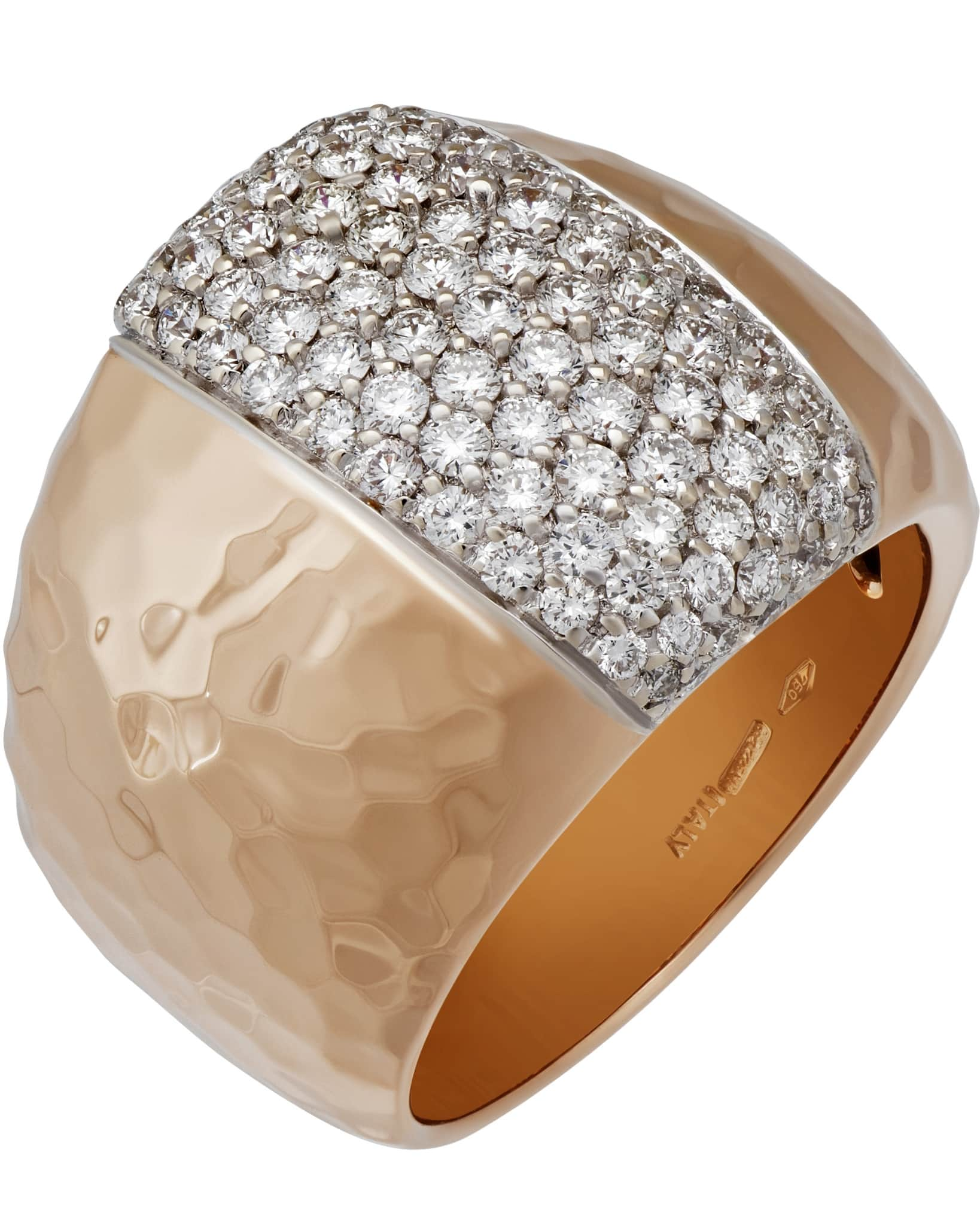 Roberto Coin – 18K Rose Gold, Diamond & Ruby Ring Sz 7 ADR473RI0173