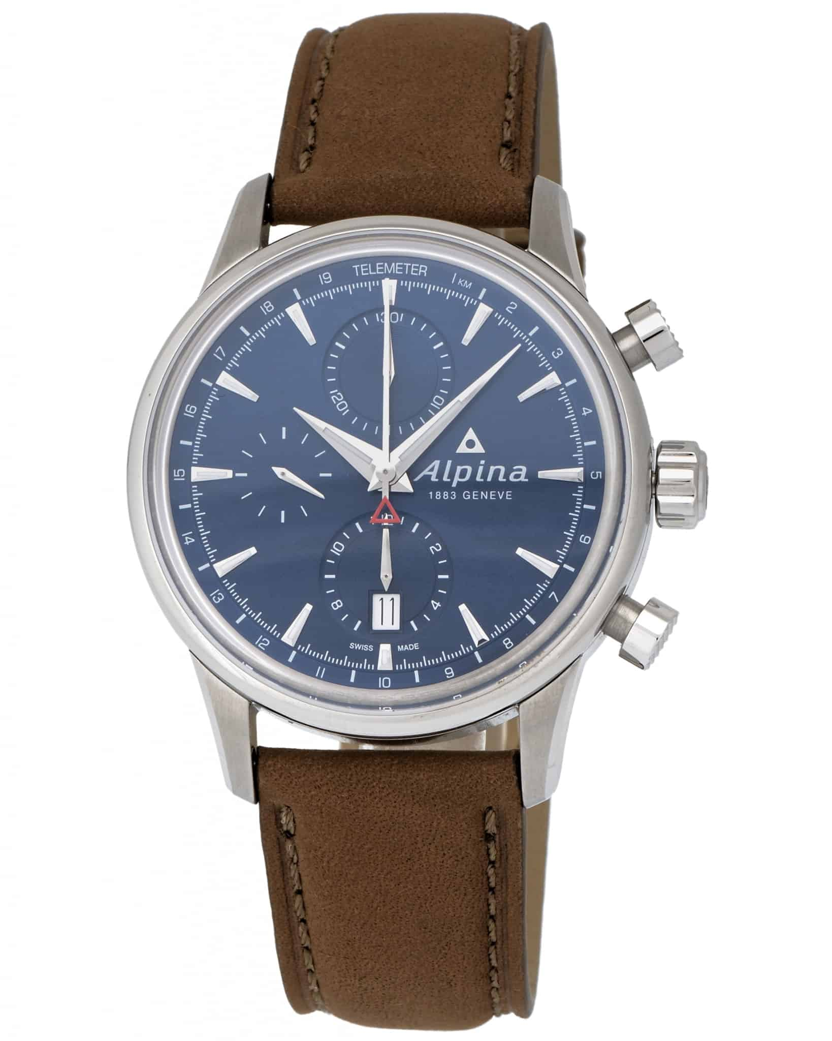 Alpina Alpiner Chronograph Automatic Men's Watch – AL-750N4E6
