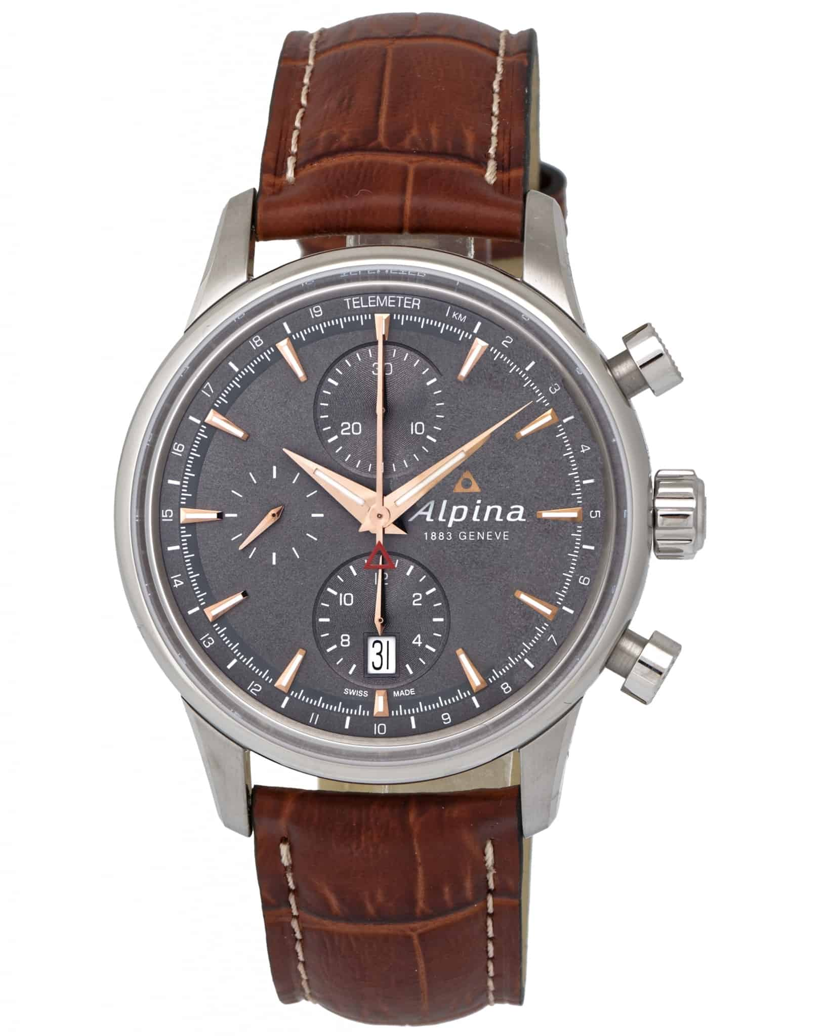 Alpina Alpiner Chronograph Automatic Men's Watch – AL-750VG4E6