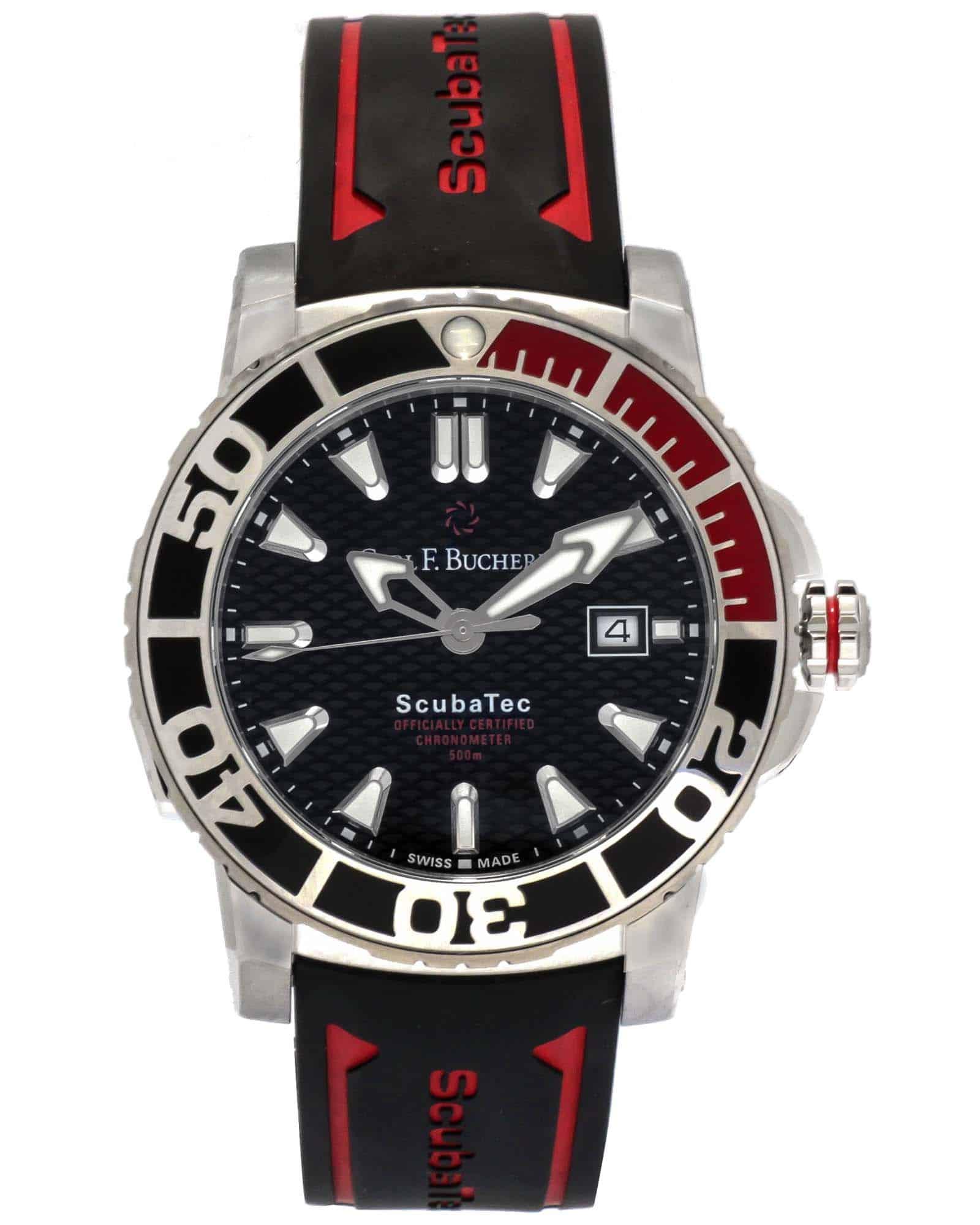 Carl F. Bucherer Patravi ScubaTec Automatic Men's Watch – 00.10632.23.33.02