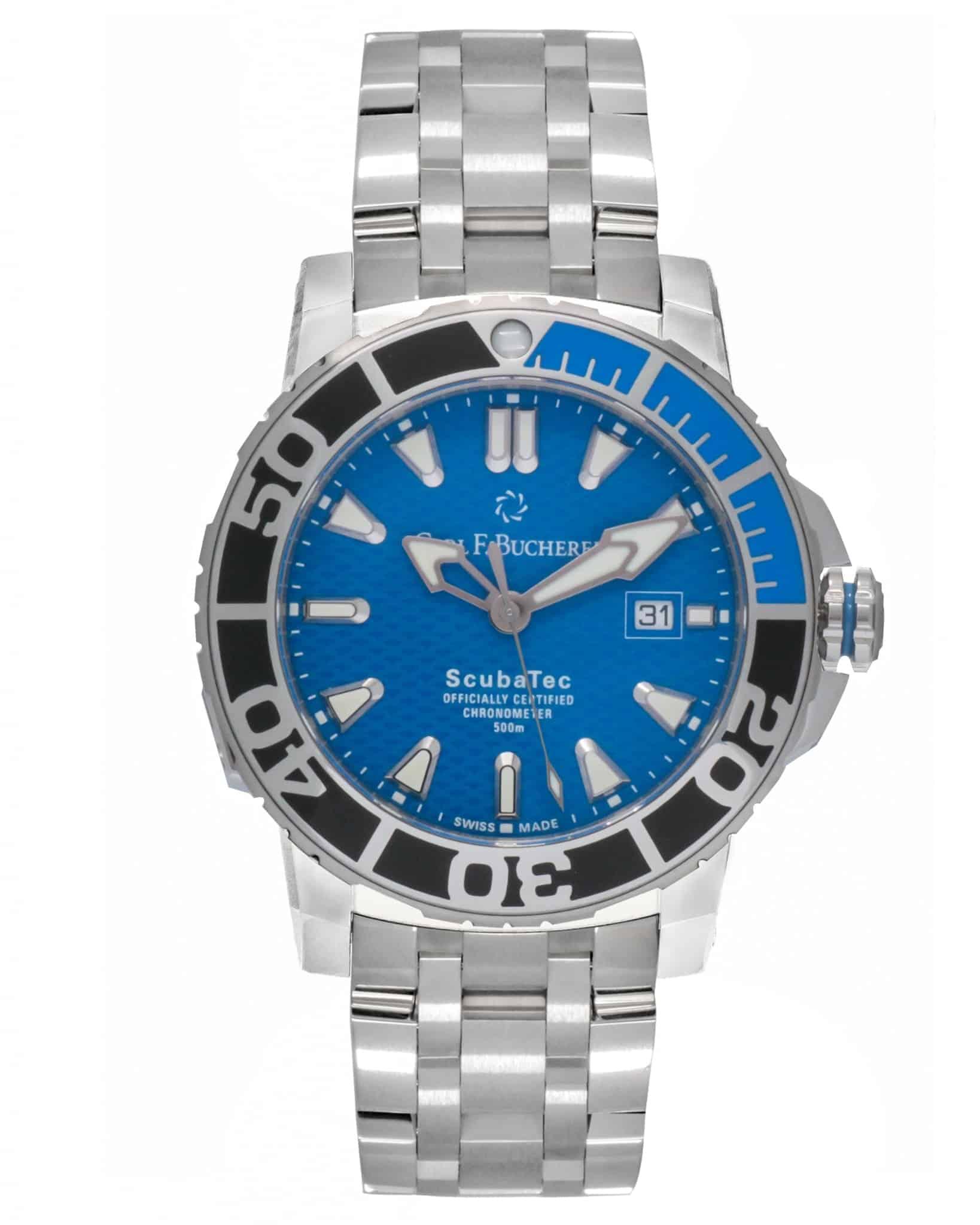Carl F. Bucherer Patravi ScubaTec Automatic Men's Watch – 00.10632.23.53.21