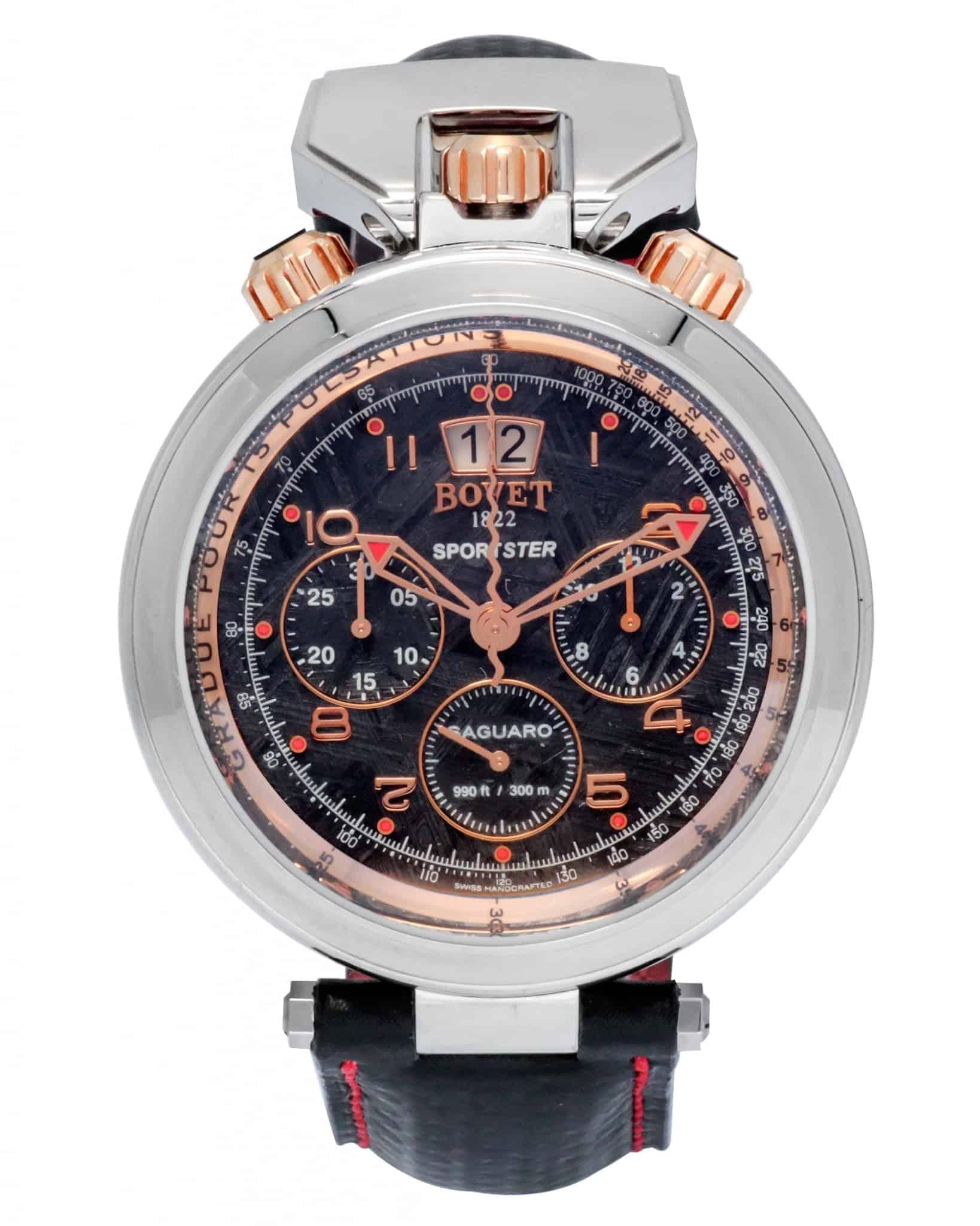 Bovet Sportster Saguaro Big Date Chronograph Automatic Men's Watch – SP0392