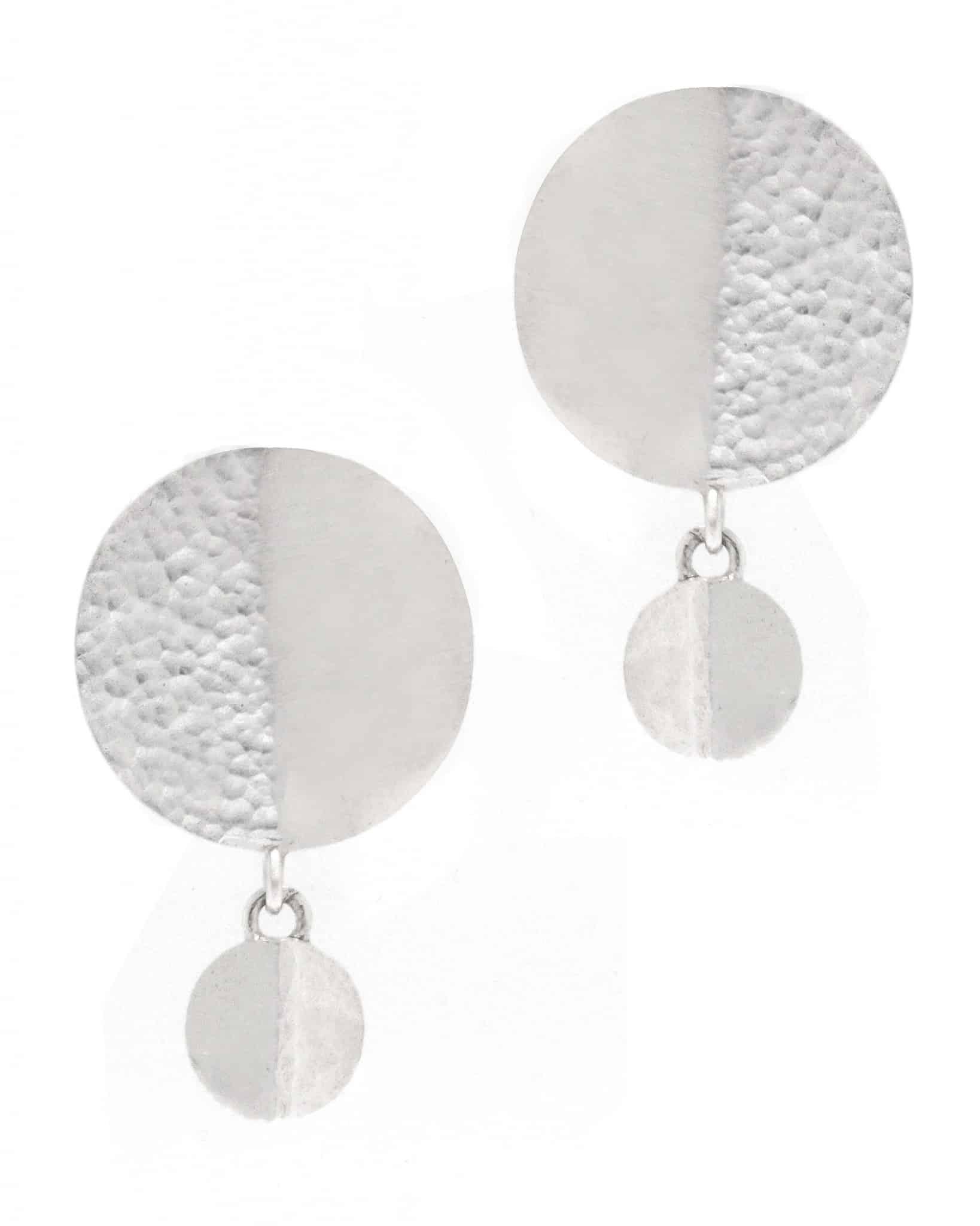 GURHAN Single Drop Sterling Silver Earrings SE-TKB-SL-PL-SD-CP