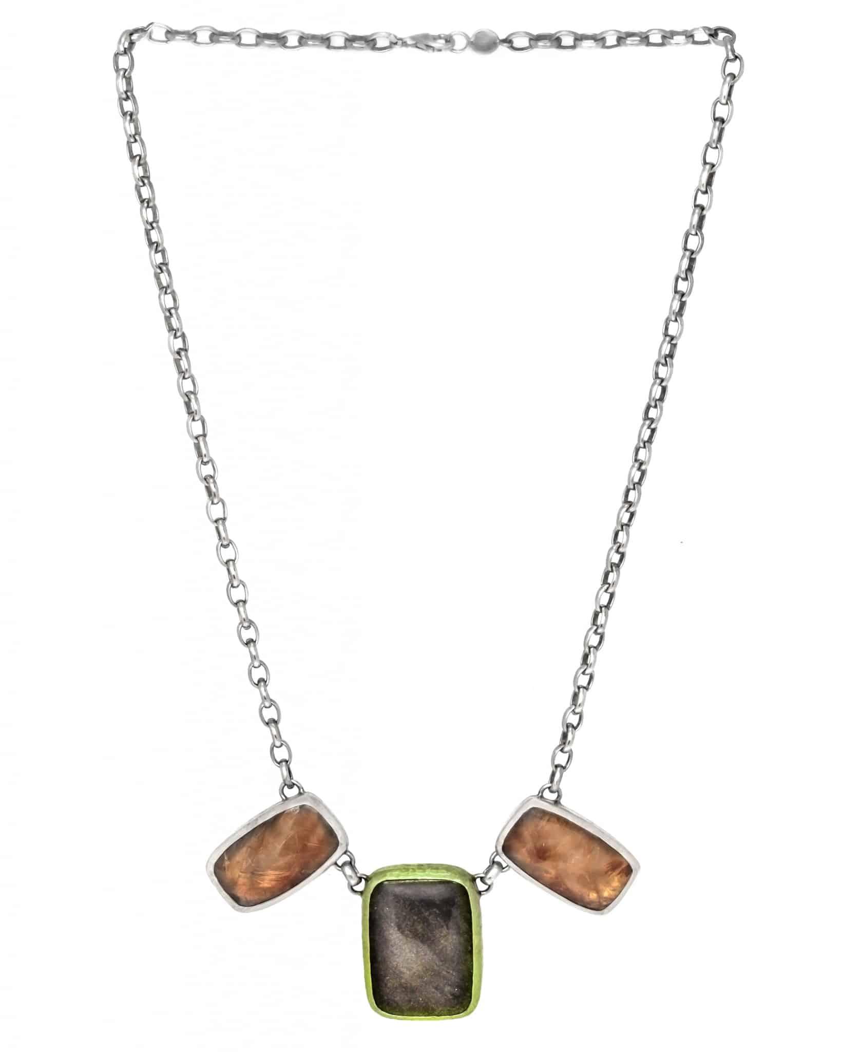 Necklaces, Silver, Silver, 2017, One Size CHANTECLER