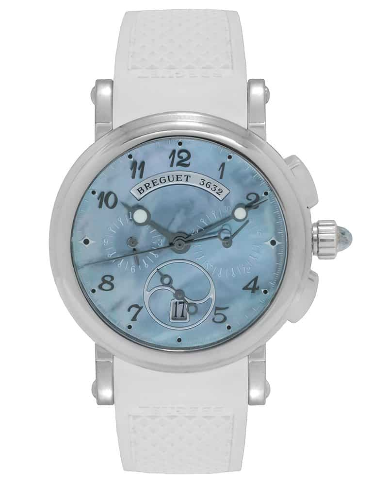 Breguet Marine Chronograph Automatic Ladies Watch – 8827ST/59/586