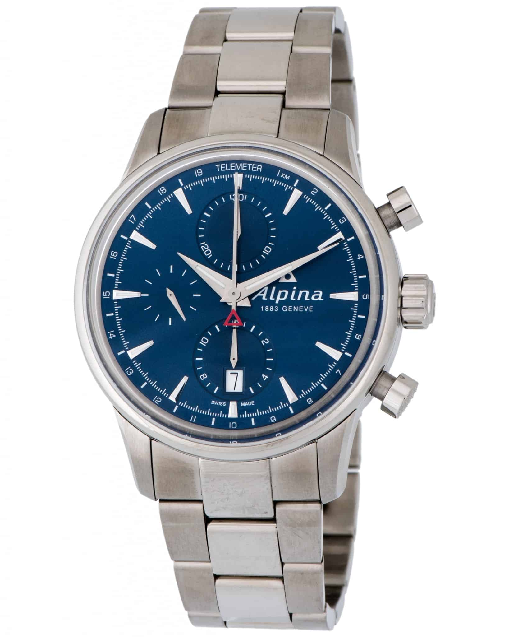 Alpina Alpiner Chronograph Automatic Men's Watch – AL-750N4E6B