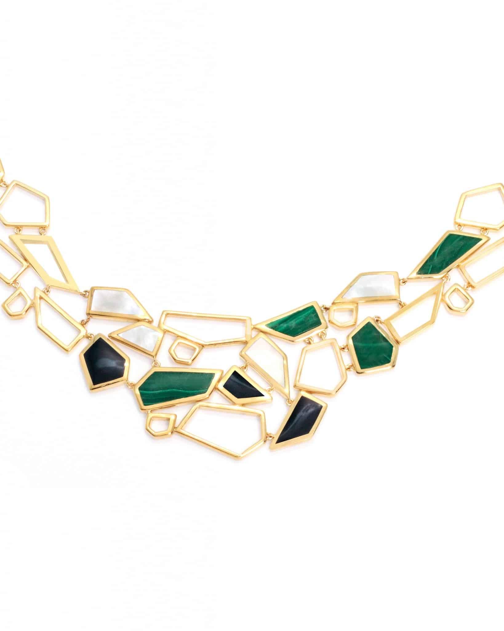 Ippolita 18k Gold Polished Rock Candy Necklace GN668SERA