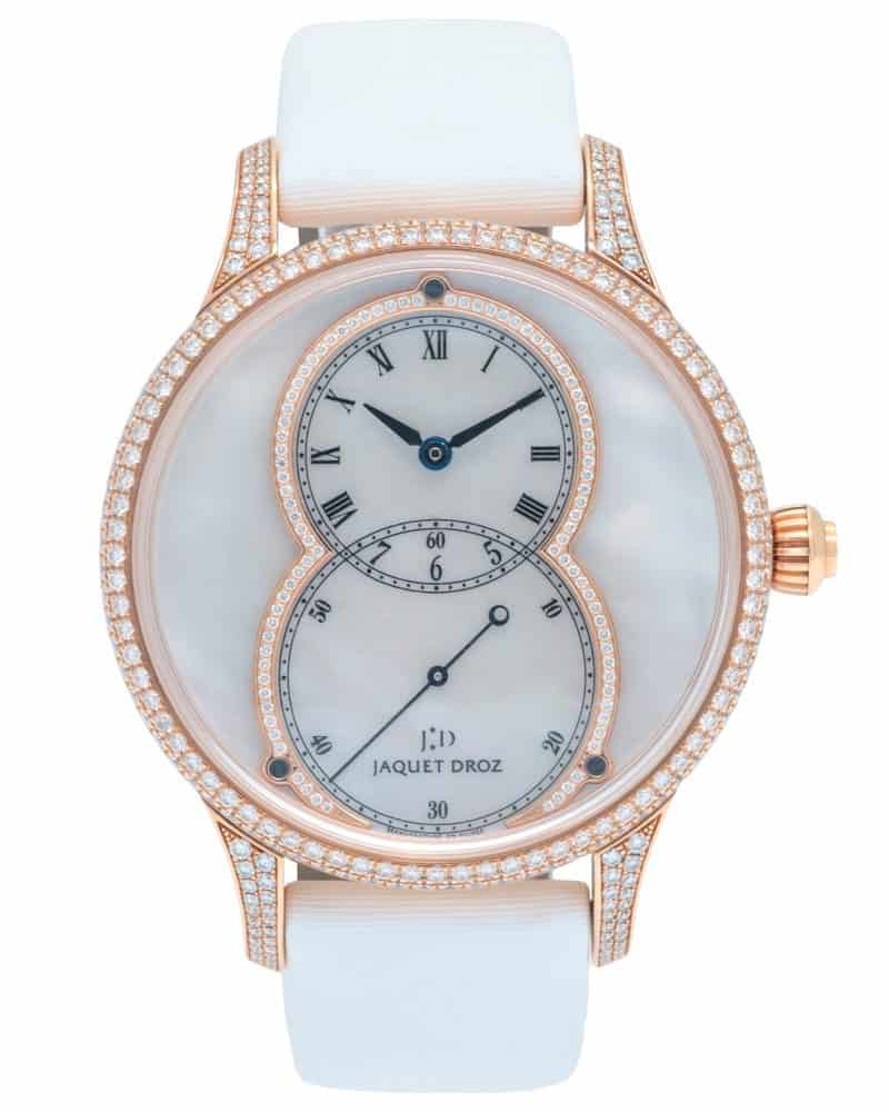 Jaquet Droz Grande Seconde Mother of Pearl Ladies Watch – J014013227