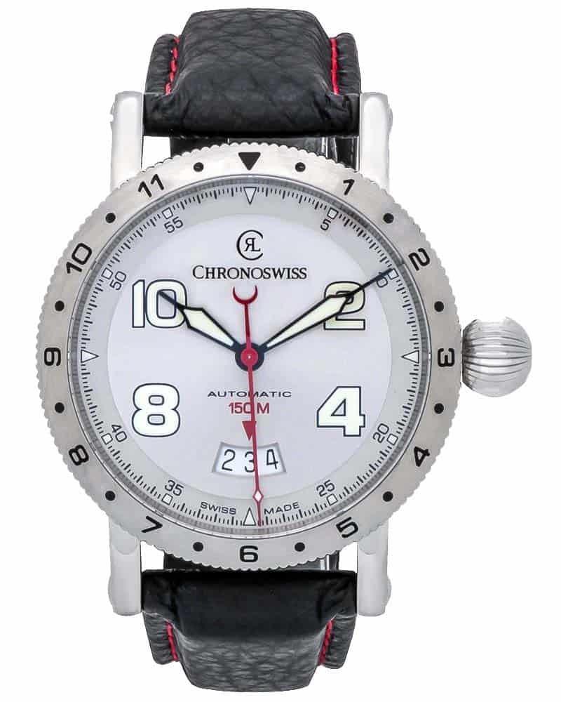 Chronoswiss Timemaster 150 Automatic Men's Watch – CH-2733-WH