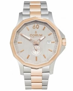 Corum Admirals Cup Legend 42 Gold/ Steel Automatic Men's Watch 395.101.24/V720.FH11