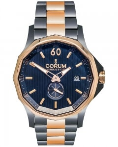 Corum Admirals Cup Legend 42 Gold/PVD Steel Automatic Men's Watch 395.101.34/V705.AB10