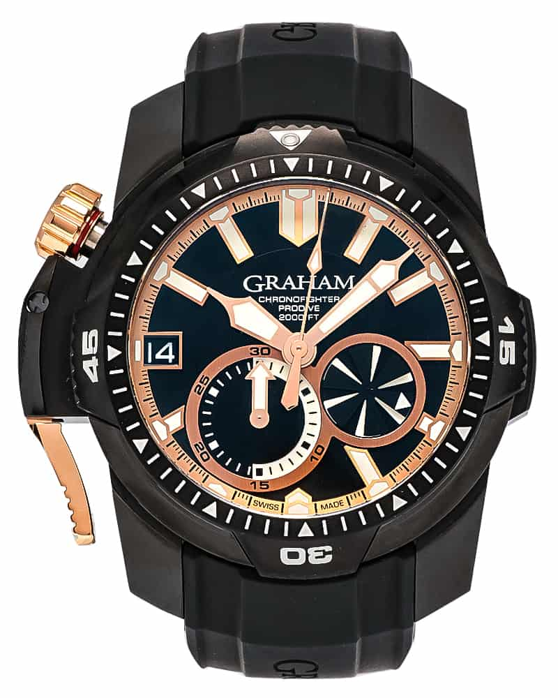Graham Chronofighter Prodive Chronograph Men's Watch 2CDAZ.B04A