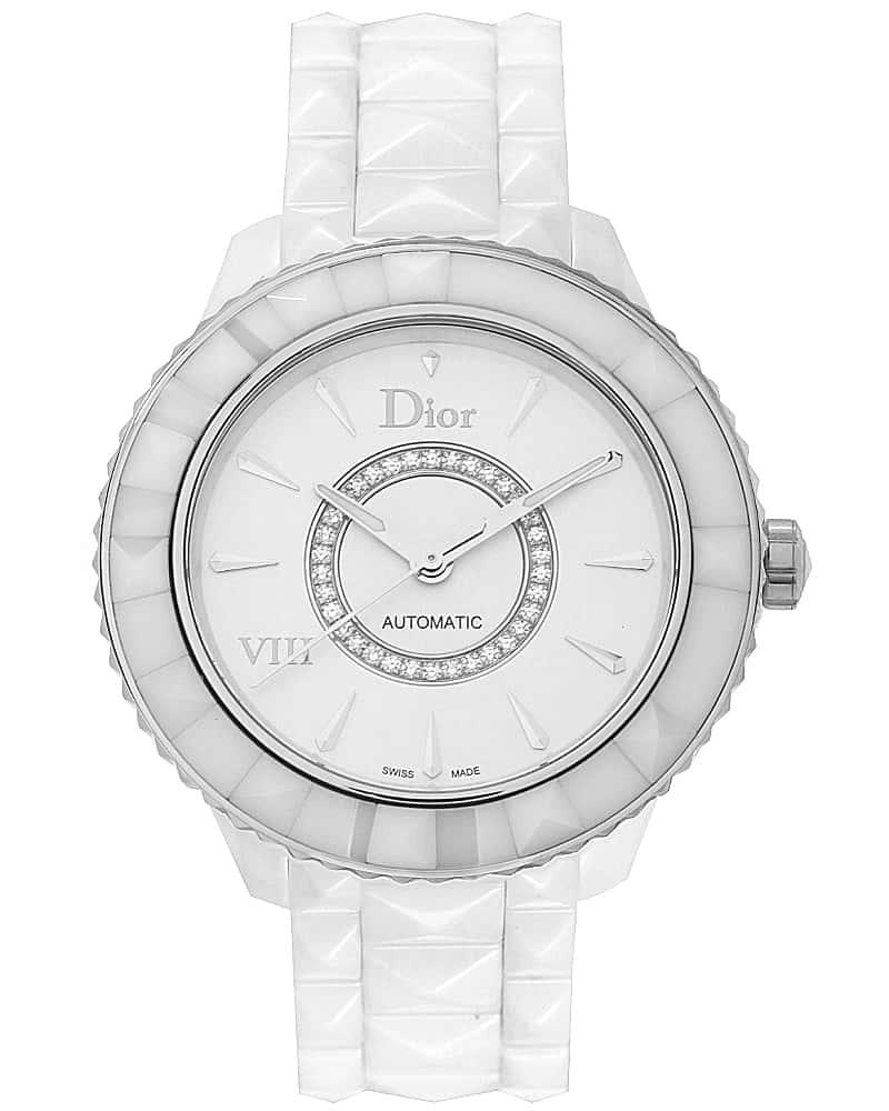 Dior Dior Viii Ceramic Diamond 38mm Automatic Ladies Watch CD1245E3C002