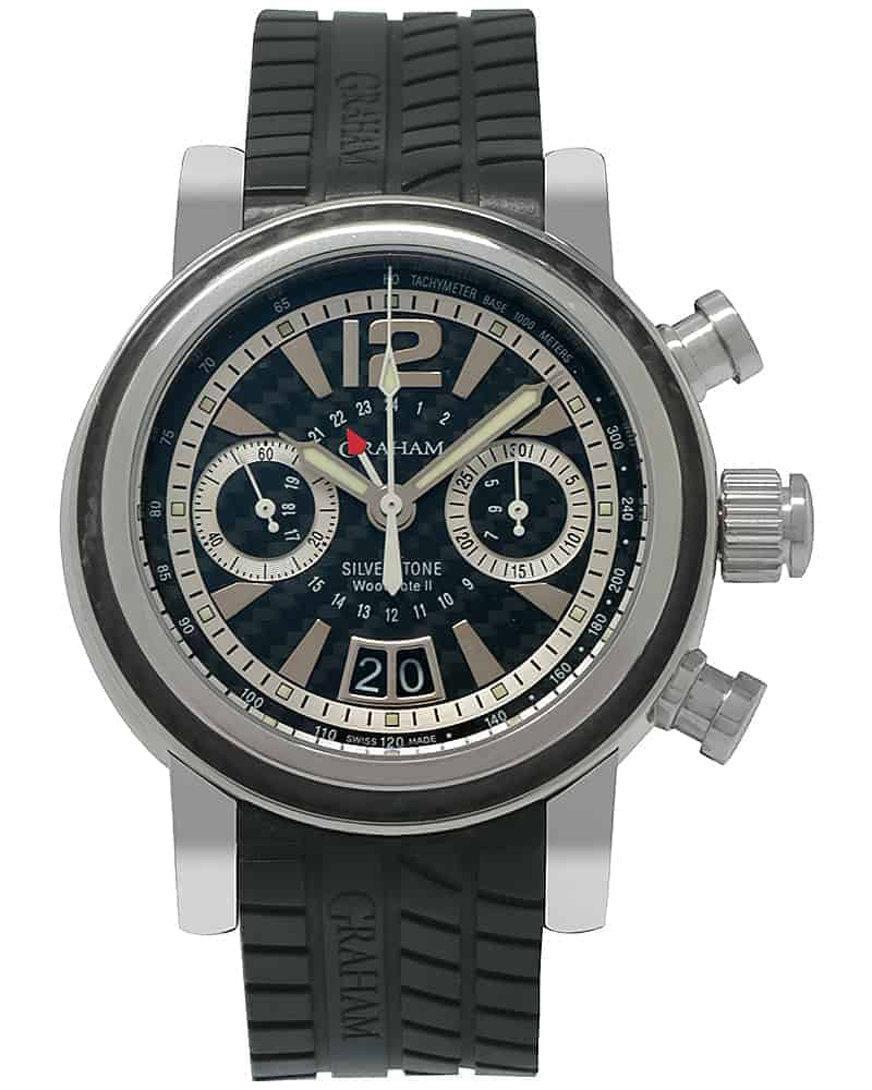 Graham Silverstone Woodcote Ii Gmt Chronograph Men's Watch 2GSIUS.B06A