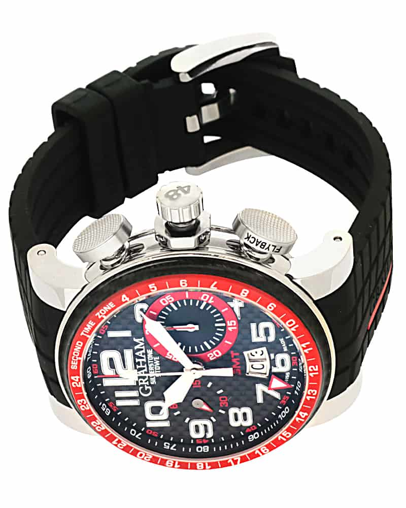Graham Silverstone Stowe Gmt Chronograph Automatic Men's Watch 2BLAS.B10A