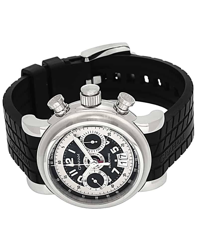 Graham Grand Silverstone GMT Chronograph Men's Watch
