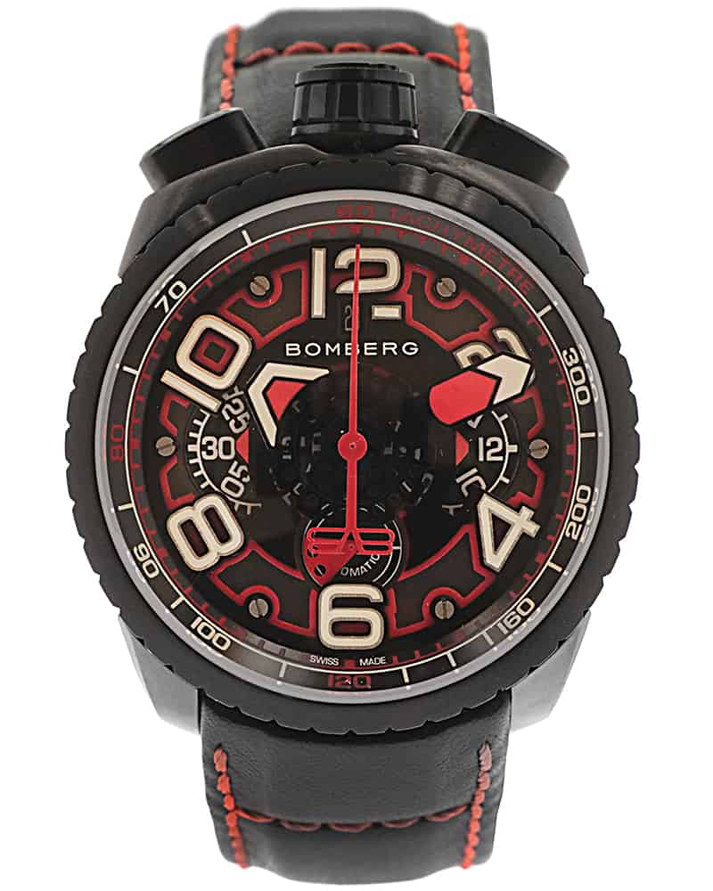 Bomberg Bolt 68 Chronograph Le Automatic Men's Watch BS47CHAPBA.041-1.3