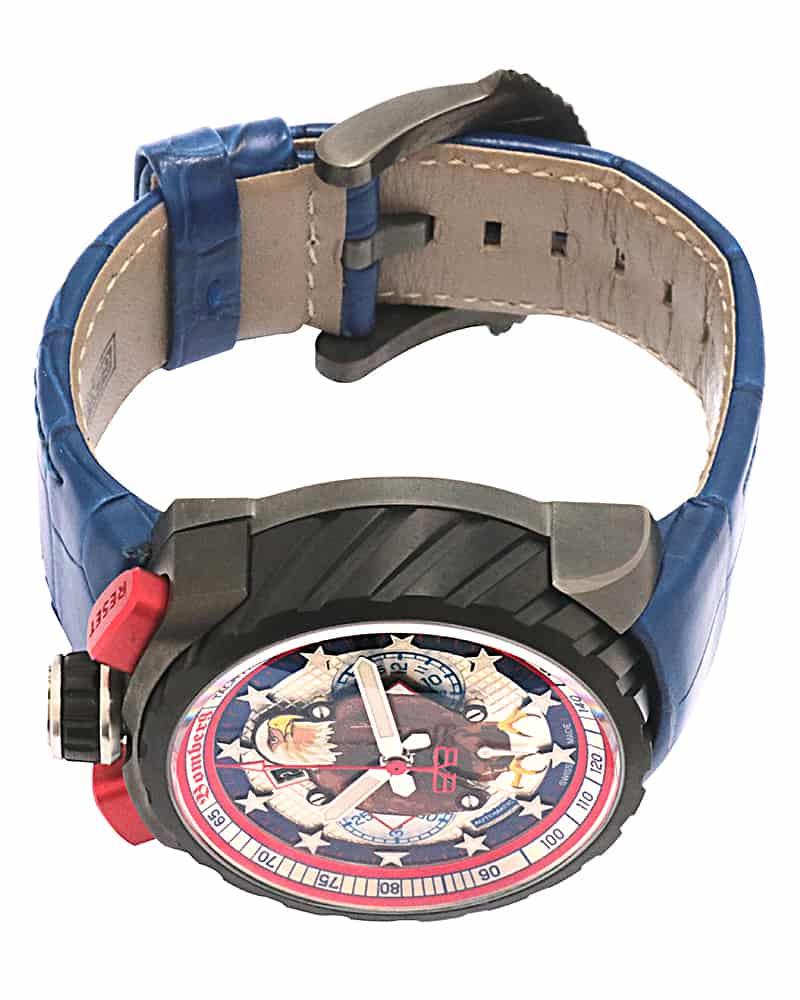 Bomberg Bolt 68 American Eagle Chronograph Le Automatic Men's Watch BS47CHAPBA.052.3