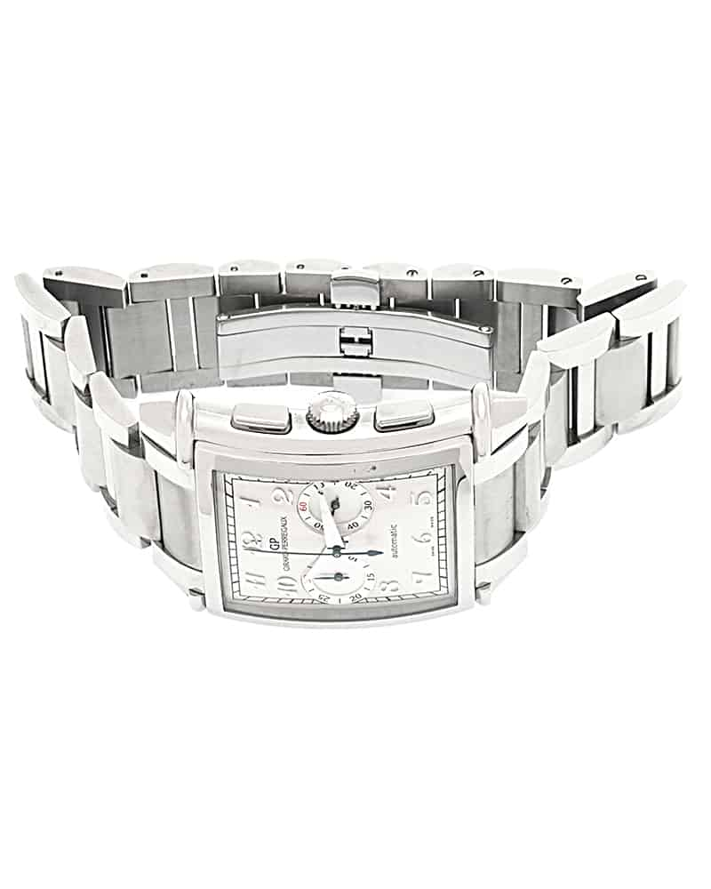 Girard Perregaux Vintage 1945 XXL Chronograph Stainless Steel Automatic Mens Watch 25883.11.121.11A