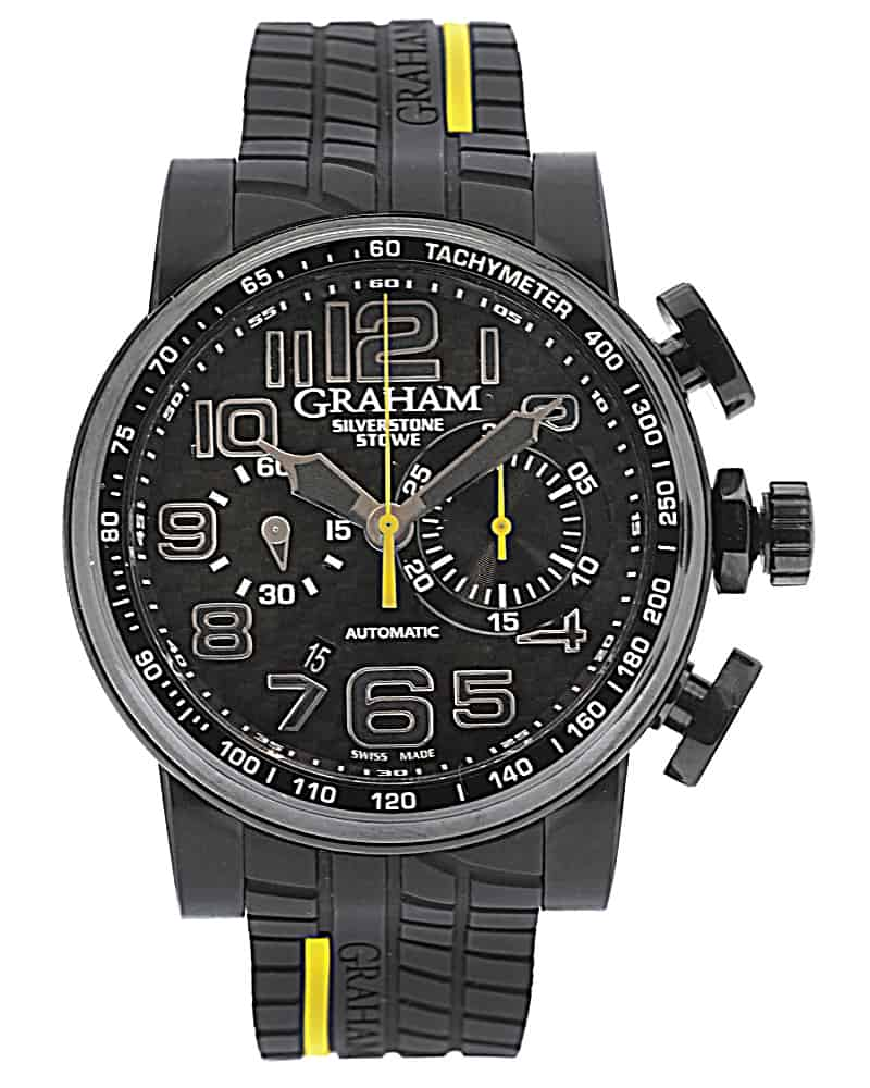 Graham Silverstone Stowe Racing Chronograph Limited Edition Automatic Men's Watch 2BLDC.Y26A