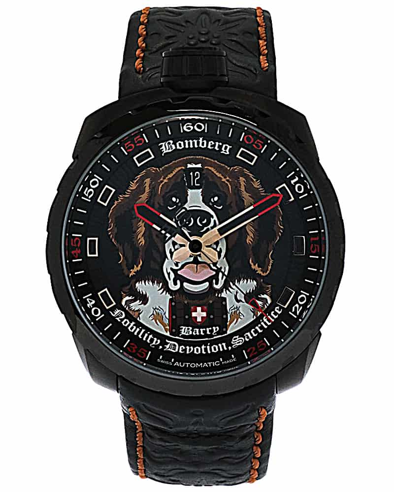 Bomberg Bolt-68 Barry Foundation Ltd Edition Pvd Coated Automatic Men's Watch
