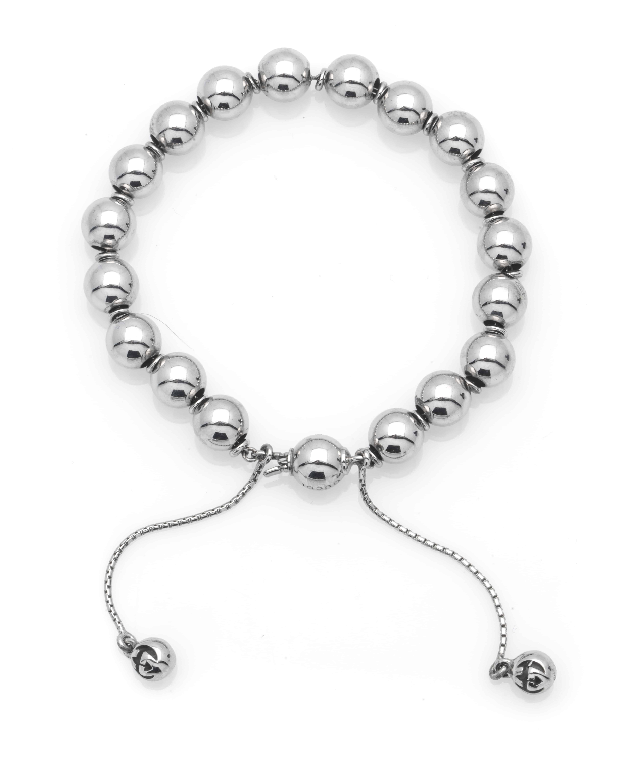 6b17734f8 ... Gucci Boule Britt Sterling Silver Beaded Bracelet YBA37367800101. Sale!  YBA373678001016_B; YBA373678001016_C; YBA373678001016_A. YBA373678001016_B