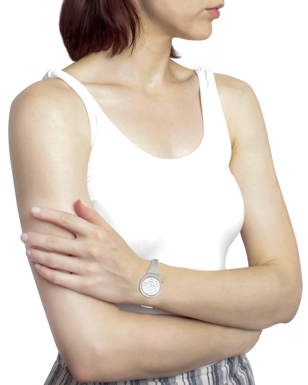 Georg Jensen Viviana Stainless Steel Quartz Ladies Watch 3575536