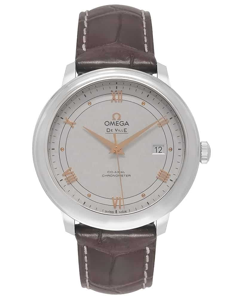 a29b8c8baf4 Omega De Ville Prestige Co Axial 39.5MM Stainless Steel Automatic Men s  Watch 424.13.40.20.02.005
