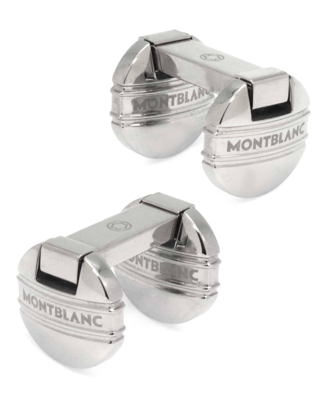 Montblanc -cufflinks Mst Steel Turn Down Staffa 105870