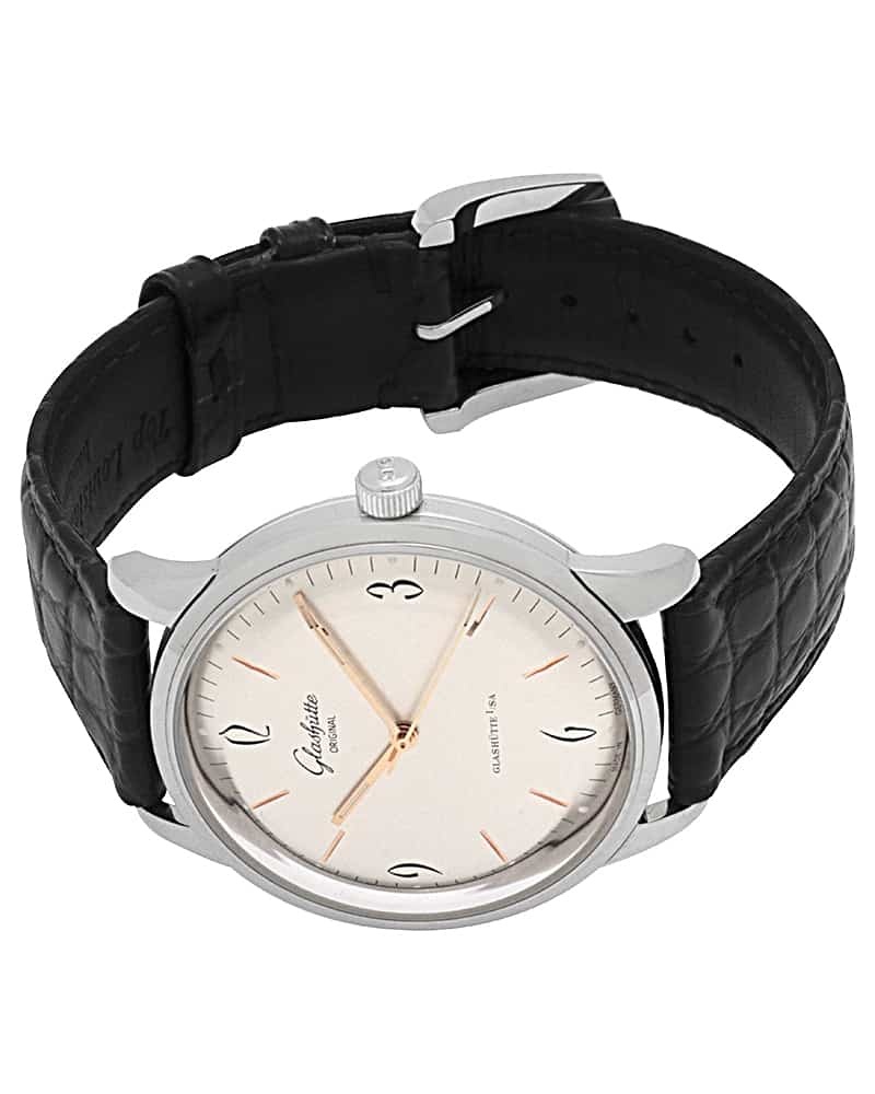 Glashutte Sixties Silver Dial  Automatic Men's Watch 139.52.01.02.04