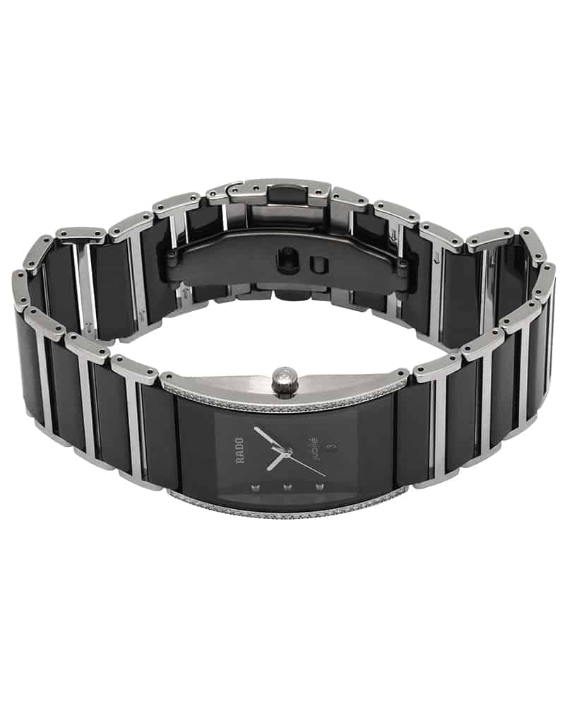 Rado Jubile Diamond Diastar Diamond Ceramic & Steel Quartz Ladies Watch R20757759