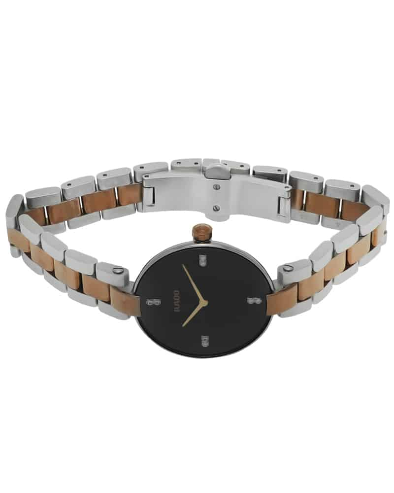 Rado Coupole M Stainless Steel Diamond Quartz Ladies Watch R22850703