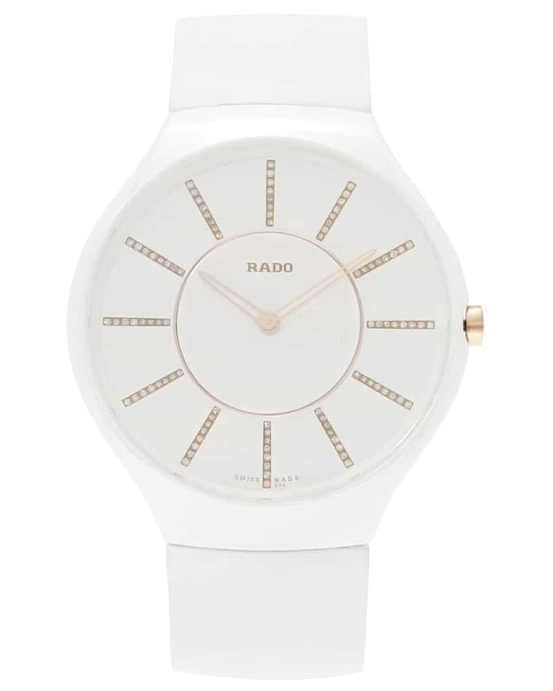 f92b7684a ... Rado True Thinline Diamond Ceramic Quartz Ladies Watch R27957709. Sale!  R27957709_a; R27957709_b; R27957709_c. R27957709_a
