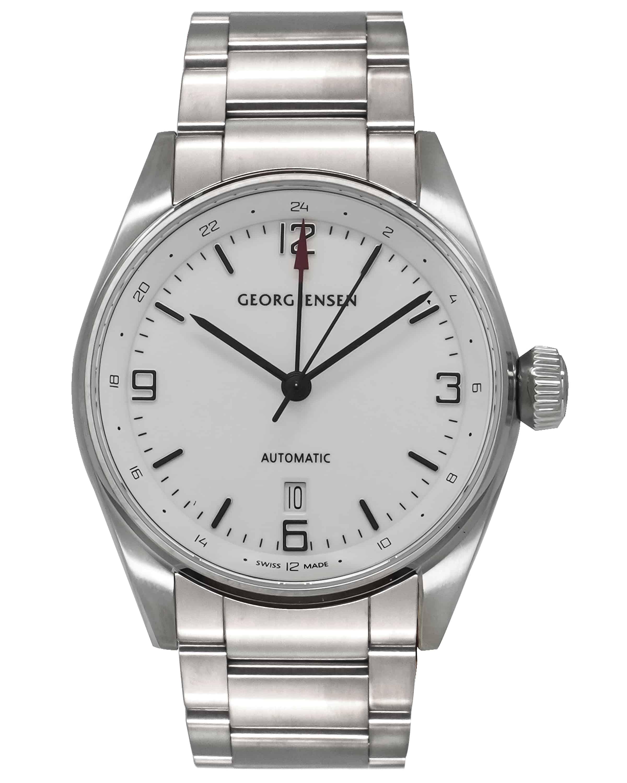 Georg Jensen Delta Classic Gmt Automatic Men's Watch 3575599