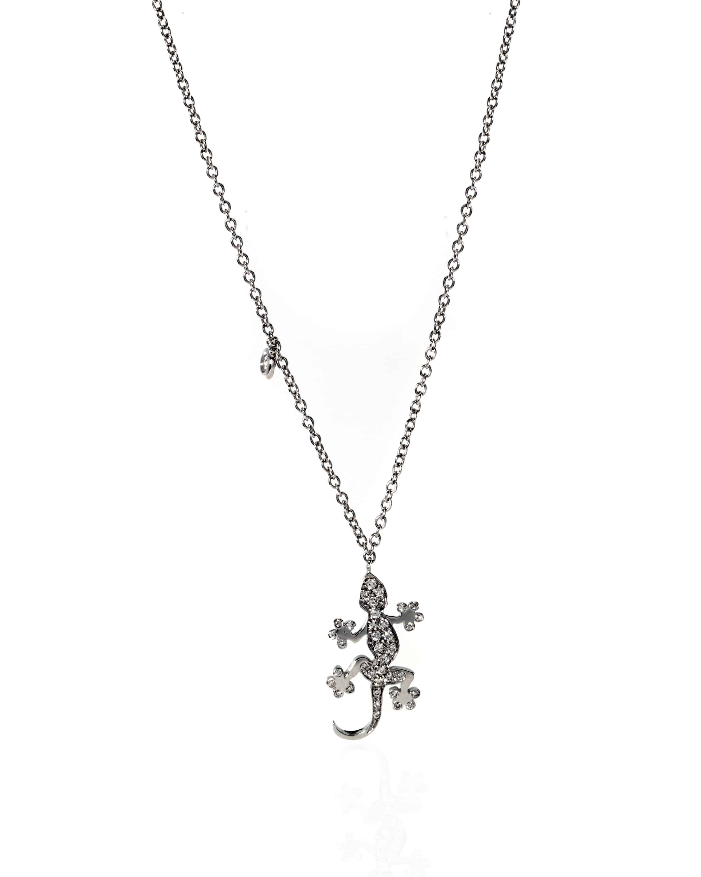 Crivelli 18k White Gold Diamond Necklace