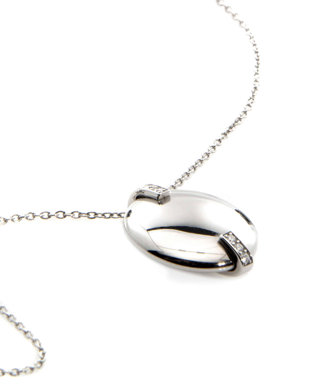 Roberto Coin 18k White Gold Diamond Statement Necklace 8882473AW20X